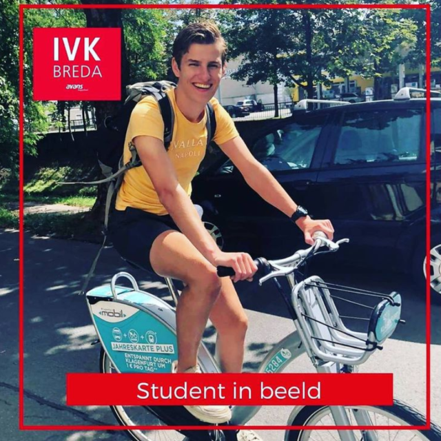 Student in beeld